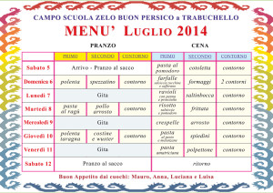Menu Camposcuola:Menu