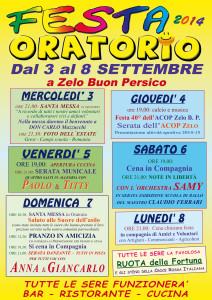 Oratorio in Festa 2014:Zelo