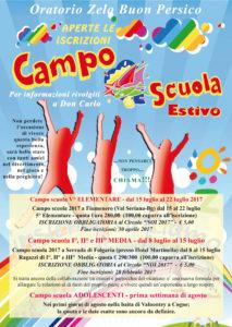 Campiscuola:Oratorio Zelo