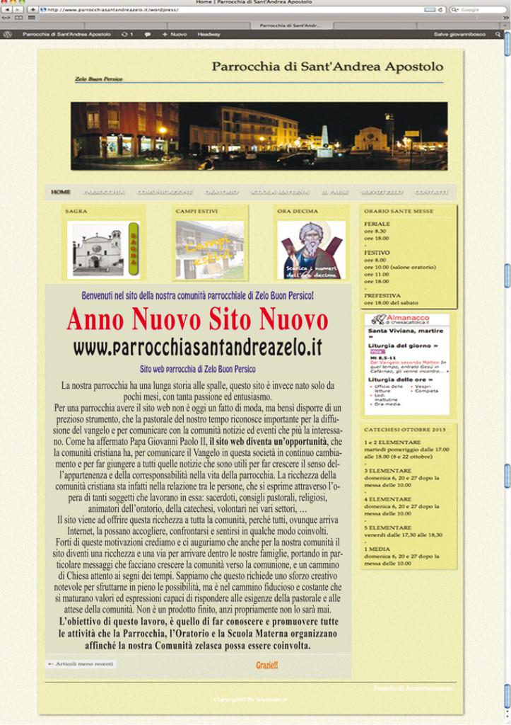Anno nuovo sito nuovo:Zelo