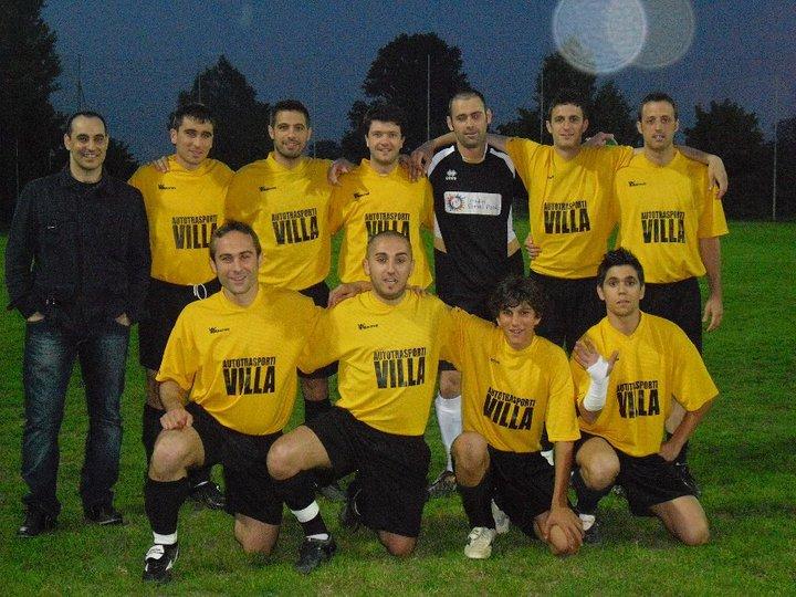 Cambielli vincitori Villa