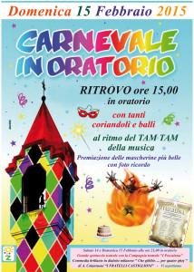 Carnevale:Oratorio