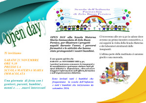 OPEN DAY 2015-2