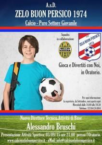 iscriviti al calcio zelasco