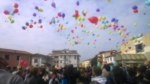 lancio palloncini