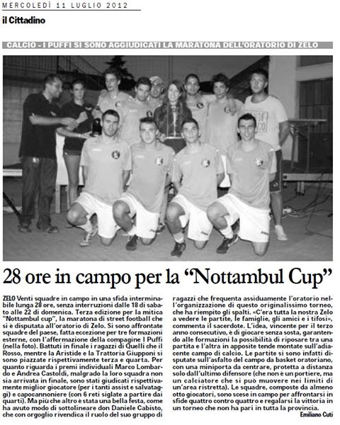 Nottambul Cup
