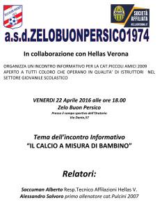 incontro informativo con hellas verona 22-04-2016